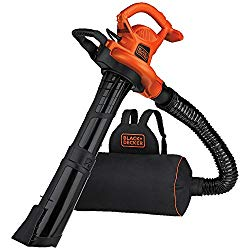 BLACK+DECKER BEBL7000 BackPack Leaf Blower Vacuum & Mulcher