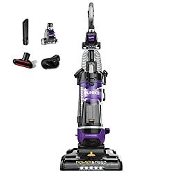 Eureka NEU202 PowerSpeed Lightweight Bagless Upright Vacuum Cleaner with Automatic Cord Rewind